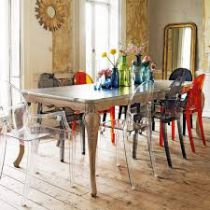 Lot de 2 chaises Victoria Ghost - Kartell