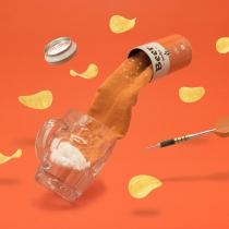 Chaussettes bière ambrée - Luckies