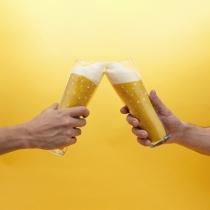 Chaussettes bière blonde - Luckies