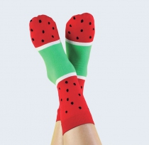 CHAUSSETTES GLACE DOIY - Watermelon