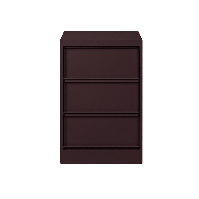 Classeur à clapets Tolix - 3 casiers - Mat texturé