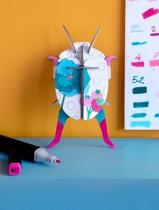 Décoration DIY Lady beetle - Studio Roof