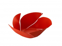Corbeille Twist Again - Rouge - Alessi