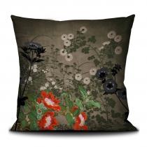 Coussin Chinese Flowers - 40 x 40 cm - La Ligne 29