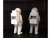 Décapsuleur Astronaute Houston blanc - DOIY