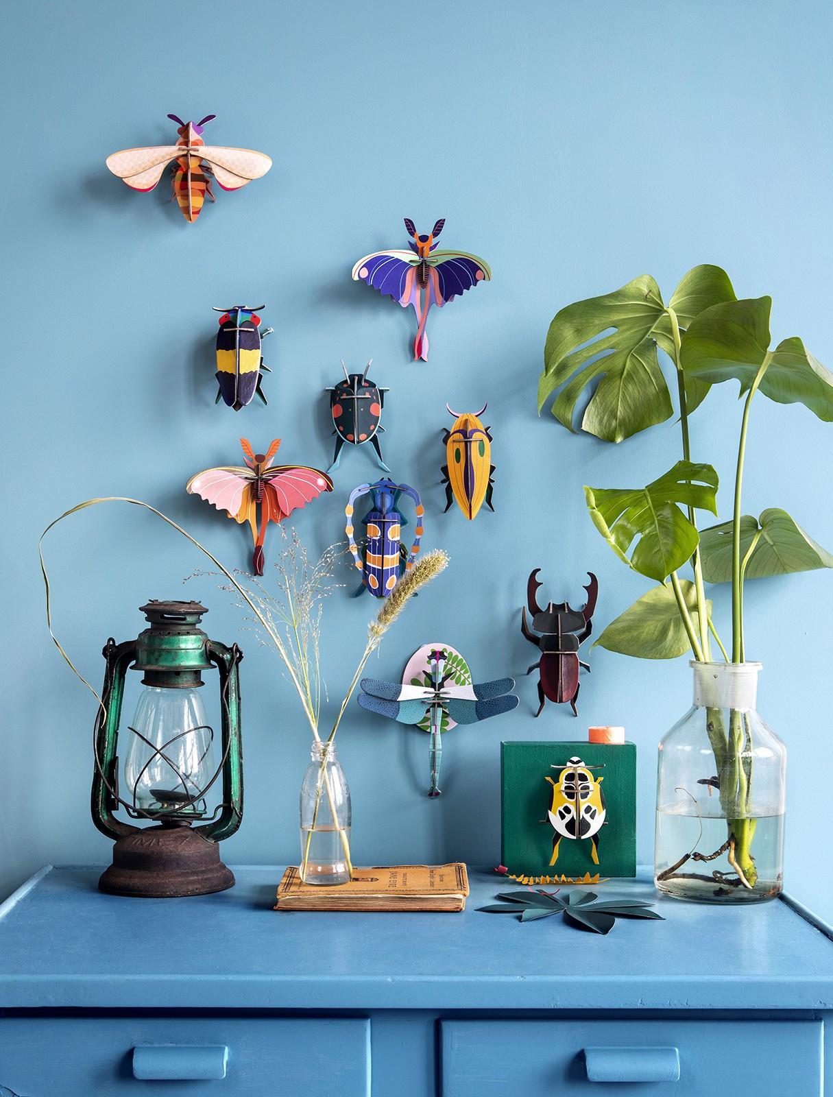 Décoration Blue Comet Butterfly - studio ROOF