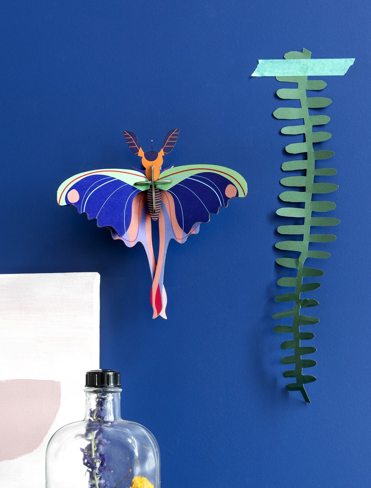 Décoration Blue Comet Butterfly- Studio Roof