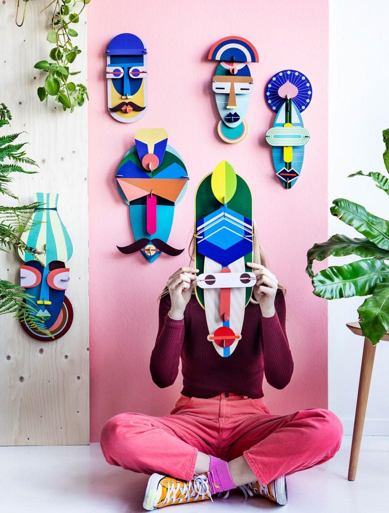 Décoration London Mask - Studio Roof