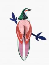 Décoration murale l\'Oiseau de paradis Rami - studio ROOF