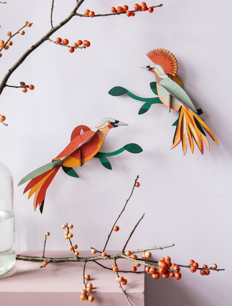 Décoration murale l\'Oiseaux de paradis Obi - studio ROOF