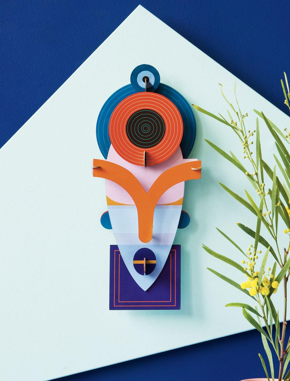 Décoration murale LAMU Mask - Studio Roof