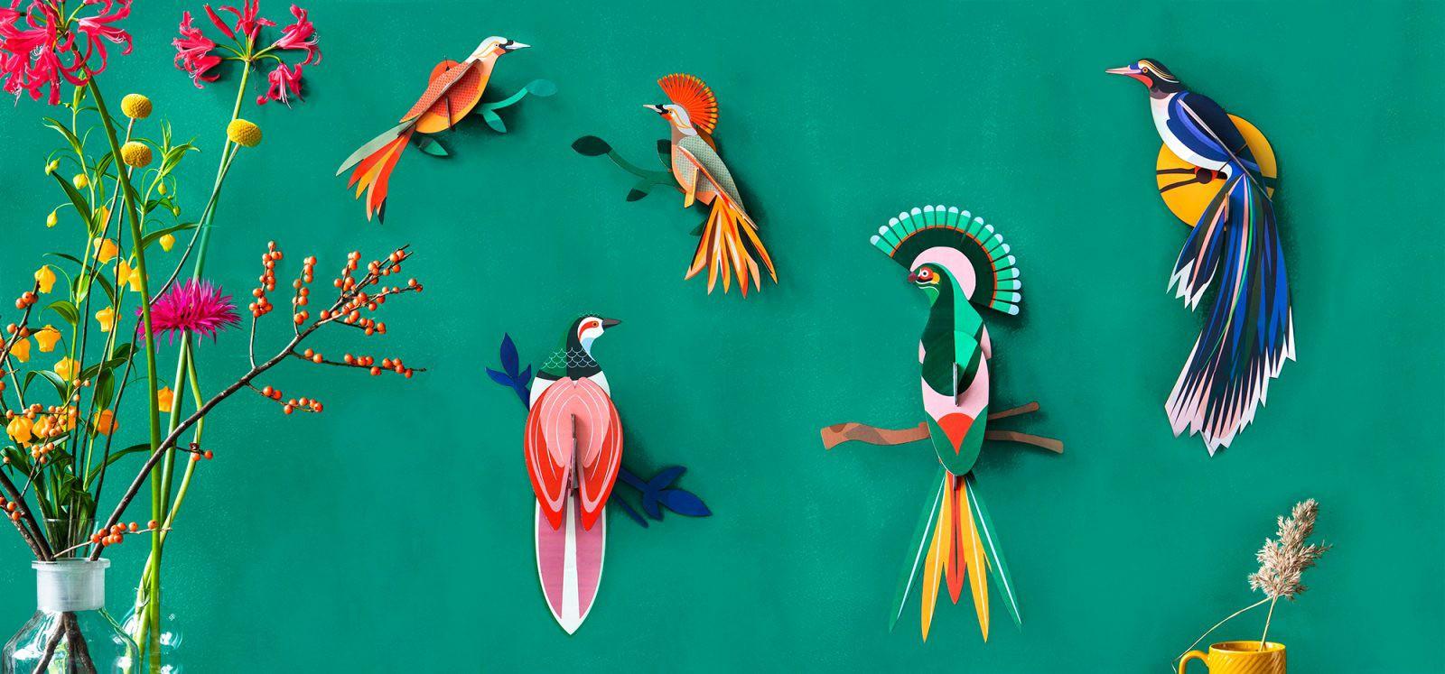 Décoration murale Totem Paradise Bird, Nias - Studio Roof