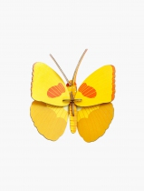 Décoration yellow butterfly - Studio Roof
