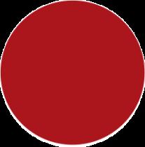 Échantillon essentiel brillant Tolix rouge piment