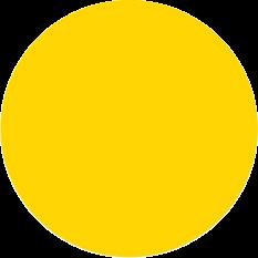 Échantillon jaune citron brillant Tolix