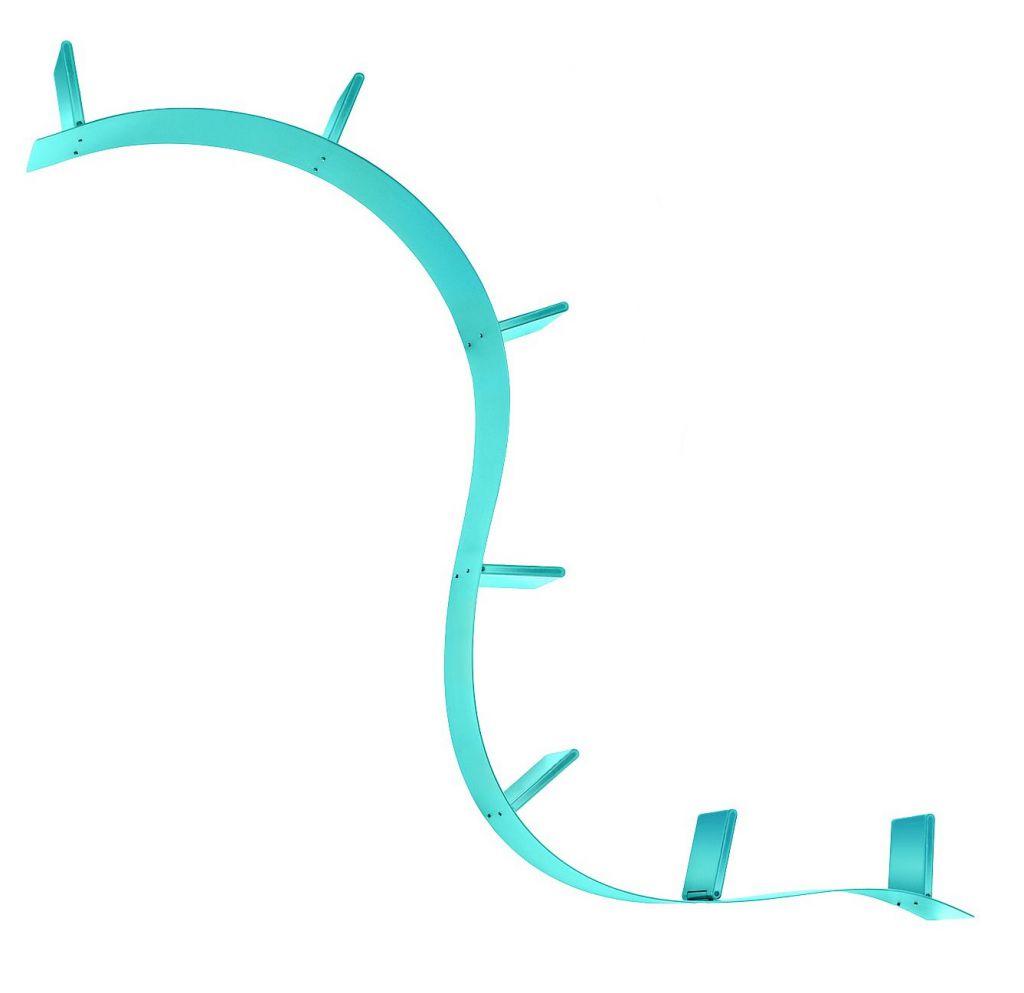 Bookworm 3m - Kartell - Bleu clair