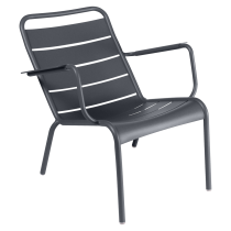 Fauteuil bas Luxembourg - Fermob - Carbone