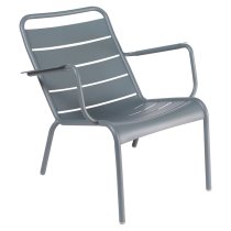 Fauteuil bas Luxembourg - Fermob - Gris orage