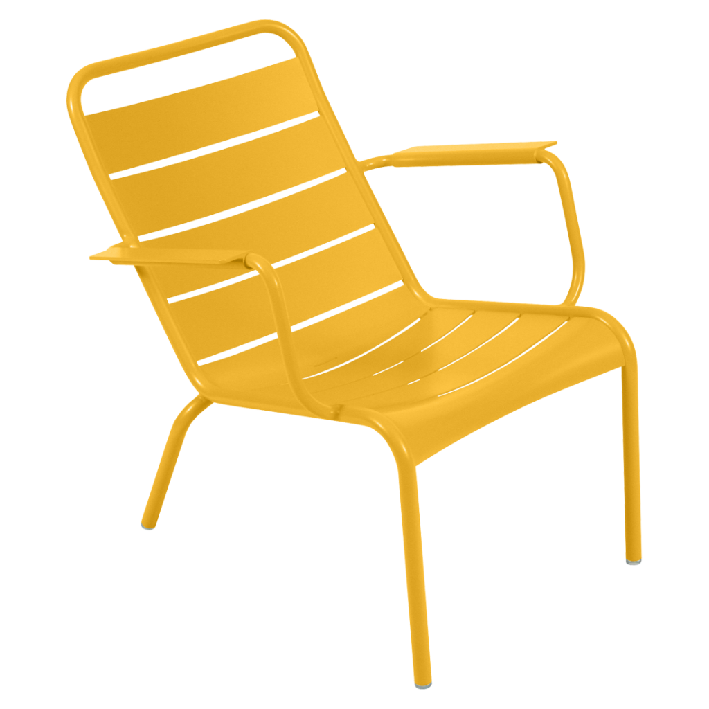 Fauteuil bas Luxembourg - Fermob - Miel