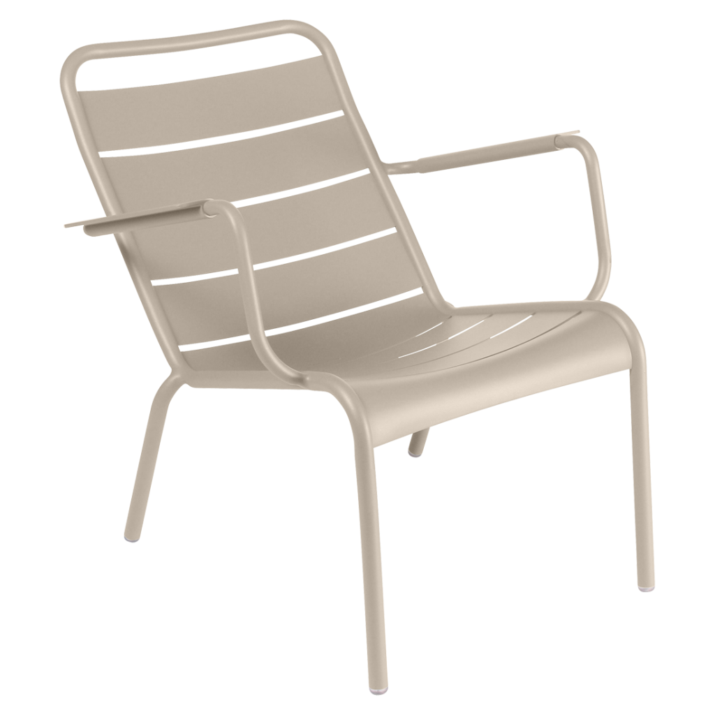 Fauteuil bas Luxembourg - Fermob - Muscade