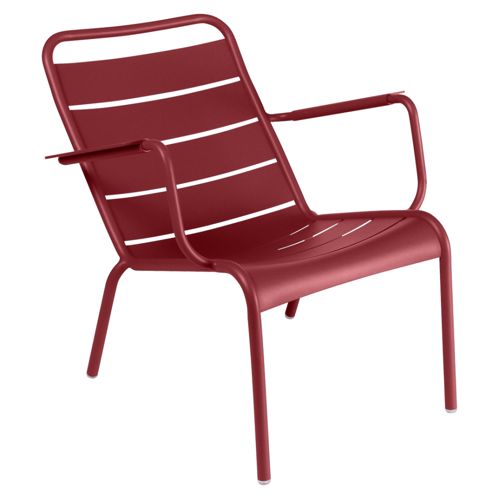 Fauteuil bas Luxembourg - Fermob - Piment