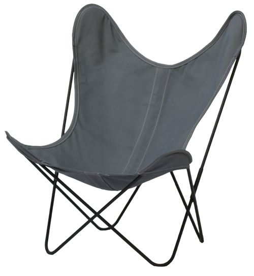 FAUTEUIL BUTTERFLY AA NEW DESIGN CENDRE