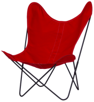 FAUTEUIL BUTTERFLY AA NEW DESIGN CERISE