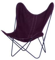 FAUTEUIL BUTTERFLY AA NEW DESIGN PRUNE