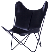 FAUTEUIL BUTTERFLY CUIR