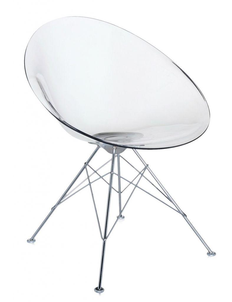 Fauteuil Eros - 4 pieds - Kartell - Cristal