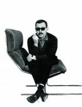 Fauteuil et Ottoman SF103 - Steiner