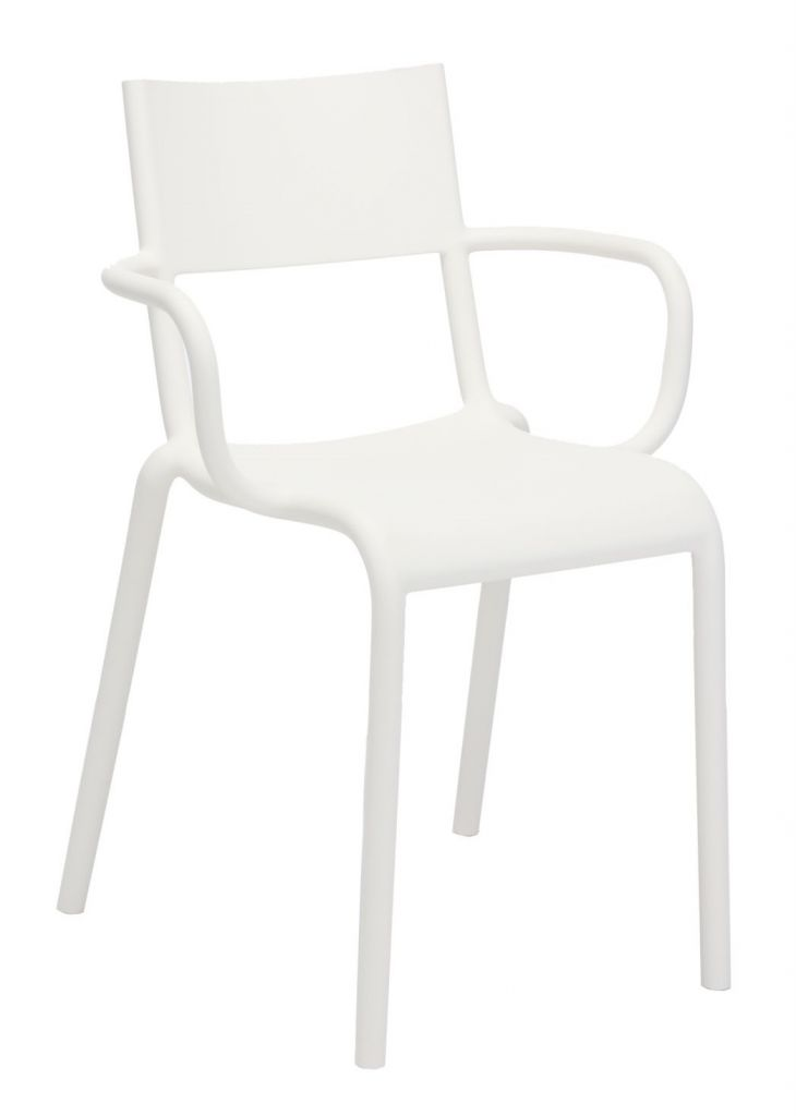 Fauteuil Generic A - Kartell - Blanc