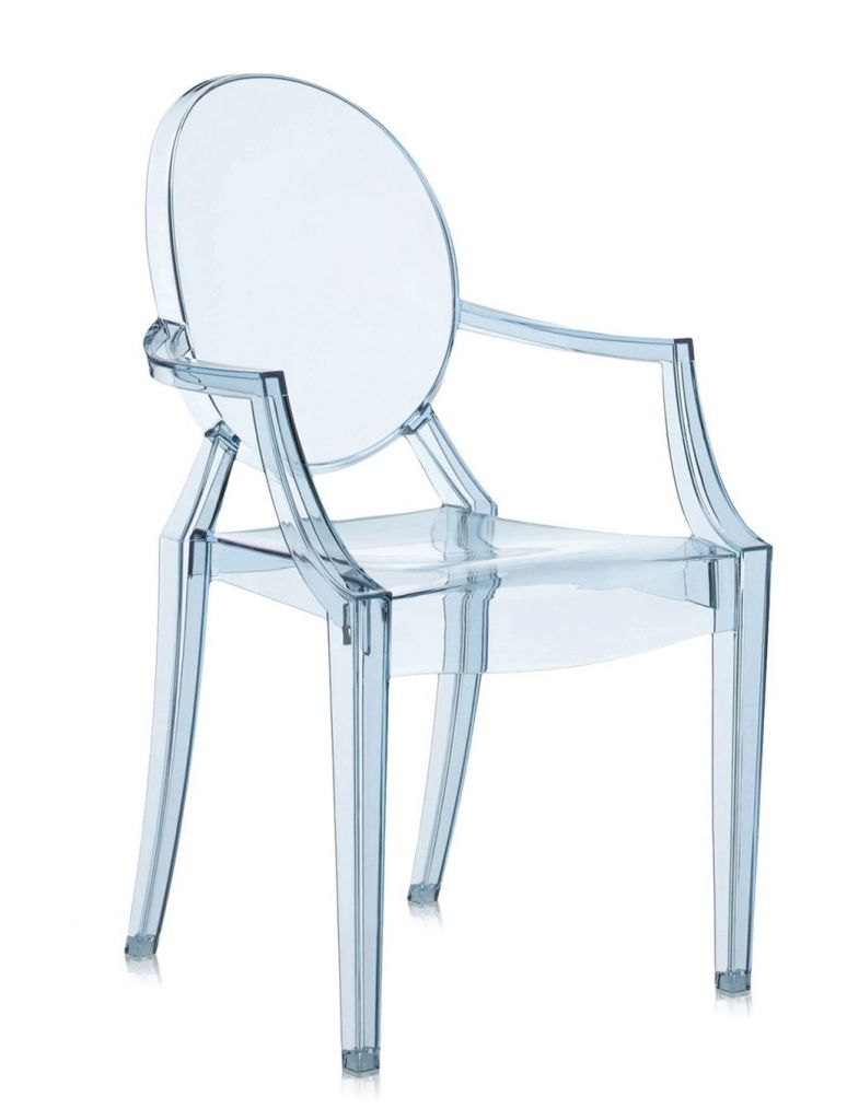 FAUTEUIL LOULOU GHOST KARTELL - Cristal