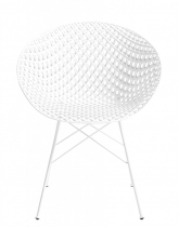 Fauteuil Matrix - Outdoor - Kartell - Blanc