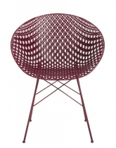Fauteuil Matrix - Outdoor - Kartell - Prune