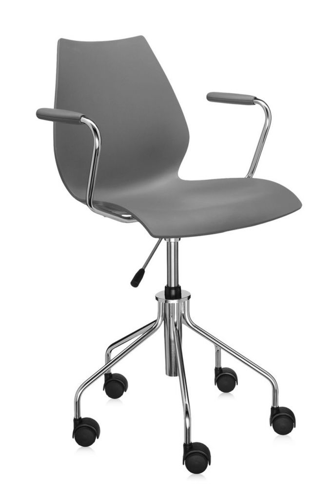 fauteuil maui kartell pivotant r glable. Black Bedroom Furniture Sets. Home Design Ideas