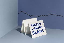Frise décorative Massif du Mont blanc - The Line