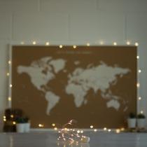 Guirlande led lumineuse miss wood pour éclairer et styliser votre intérieur