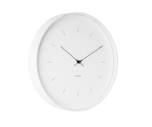 Horloge Butterfly - Large - Karlson - Blanche