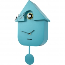 Horloge Cuckoo House Blue - Fisura