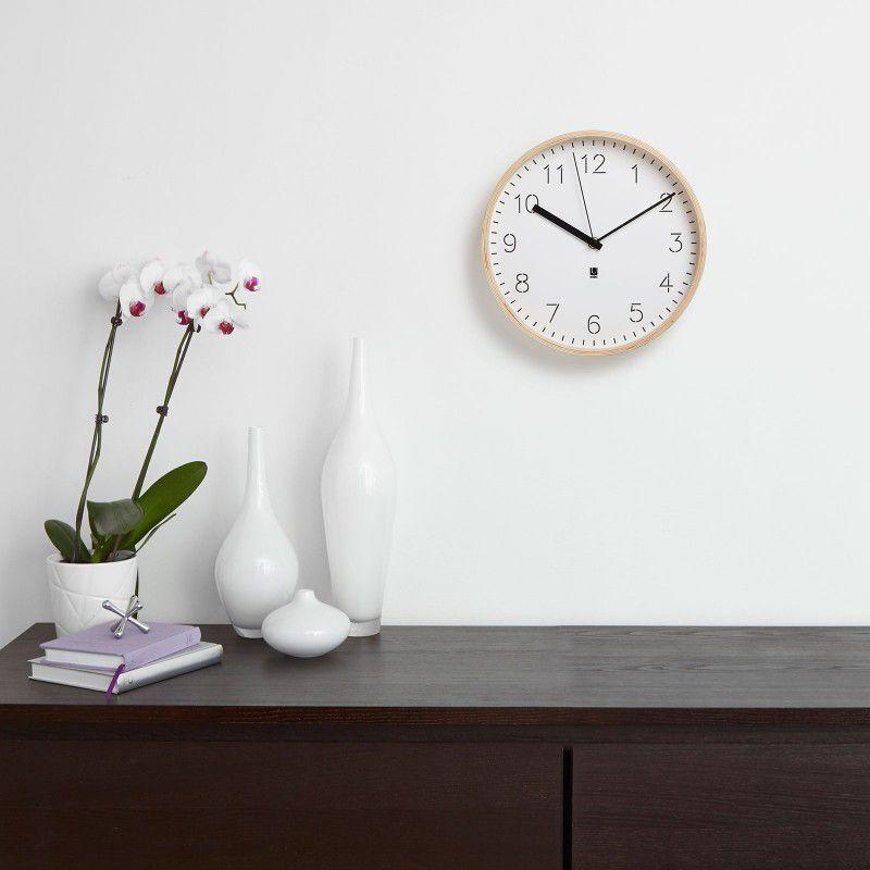 Horloge Rimwood - Bois naturel - Umbra