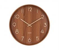Horloge Pure - Bois - Karlson