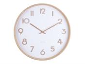 Horloge Pure medium blanc