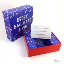 Jeu festif - Béret, Baguette et Vin - Hygge games