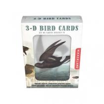 Jeu de carte 3D oiseaux - Kikkerland