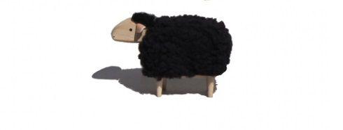 """JOUET MOUTON NOIR \""""SHEEP\"""" - Tete droite"""