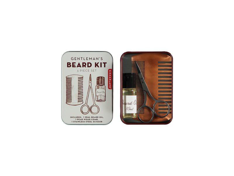 Kit gentleman barbe - Kikkerland