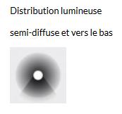 LAMPADAIRE CABOCHE GRANDE - Or
