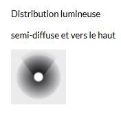 LAMPADAIRE TRESS GRANDE - Noir