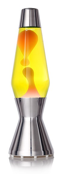 Lampe à lave Astro - Jaune lave orange -  Mathmos
